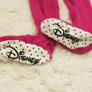 Disney One Pieces - 🎉 Authentic Disney baby 12mo Minnie Mouse footsie